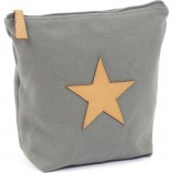 Large Star Toiletbag in Grey