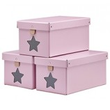 Storage Boxes in Pink
