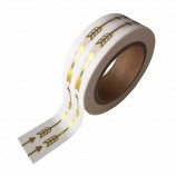 Washi Tape Gold Foil with Arrows