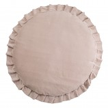 Playmat with Ruffles Velvet Beige