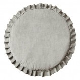 Playmat with Ruffles Velvet Grey