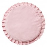Playmat with Ruffles Velvet Pink