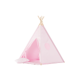 Teepee Set Plain Pink